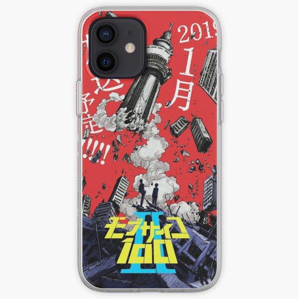 mob psycho 100  iPhone Soft Case