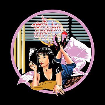 Pulp Fiction - Pink Mia@Jack Rabbits Variant by Purakushi