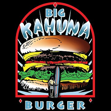 """Big """"KAHUNA"""" Burger On Sesame Dark by Purakushi"""