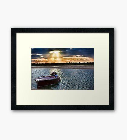 Sunset Boulevarde Framed Print