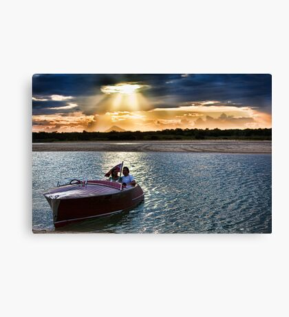 Sunset Boulevarde Canvas Print