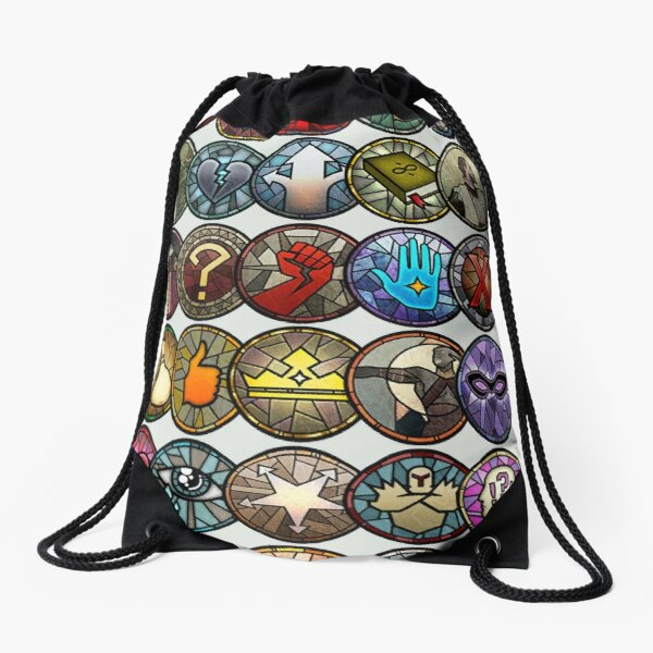 Dragon Age Inquisition Dialogue Wheel Icons | Pegatinas de Dragon Age Mochila saco