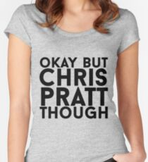 Chris Pratt Women's Fitted Scoop T-Shirt