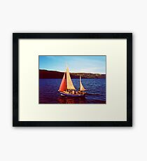 Red Sails In Broad Daylight ~ Loch Ness Framed Print