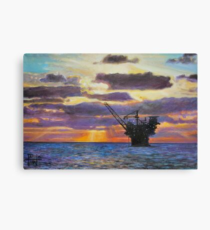 East Break Canvas Print