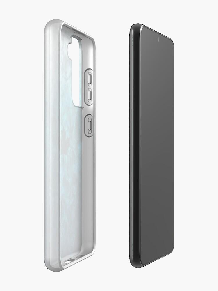 Alternate view of Black Ice - JTF2  [Roufxs-RB] Samsung Galaxy Phone Case