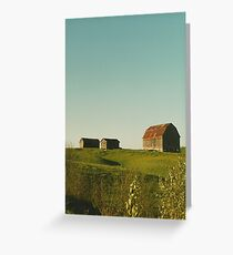 Farm, Northern Ontario Greeting Card