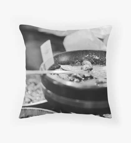 Olive & Let Live Throw Pillow