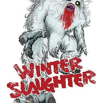 Winter Slaughter Yeti by kaijucast