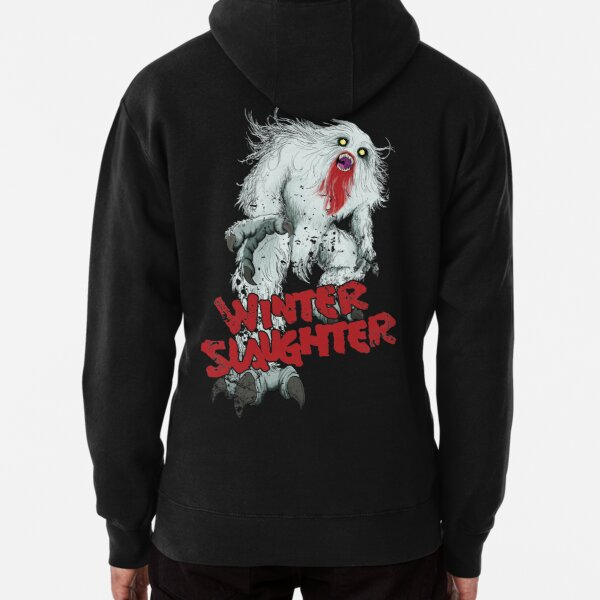 Winter Slaughter Yeti Pullover Hoodie