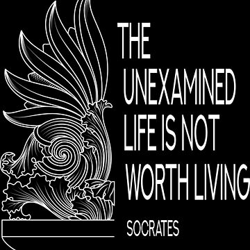 An unexamined life is not worth living by portokalis
