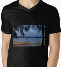 Huskinsson NSW T-Shirt mit V-Ausschnitt