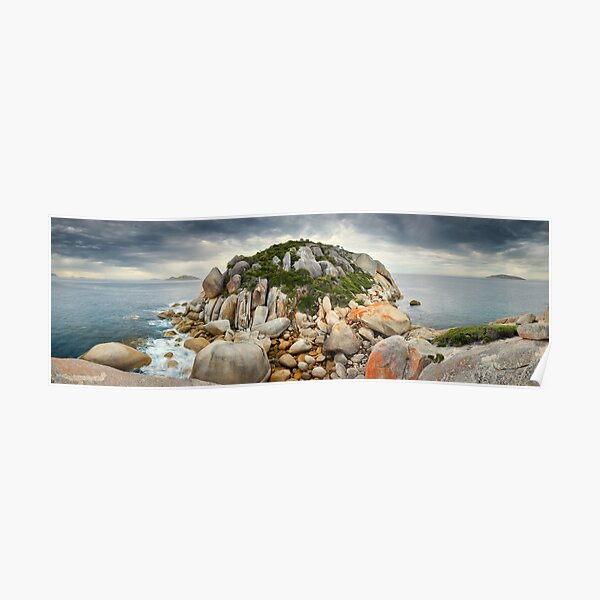 Tongue Point Storm, Wilsons Promontory, Victoria, Australia Poster