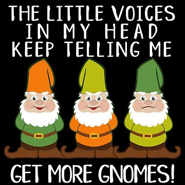 The Littles Voices Get More Gnomes Dark by ironydesigns