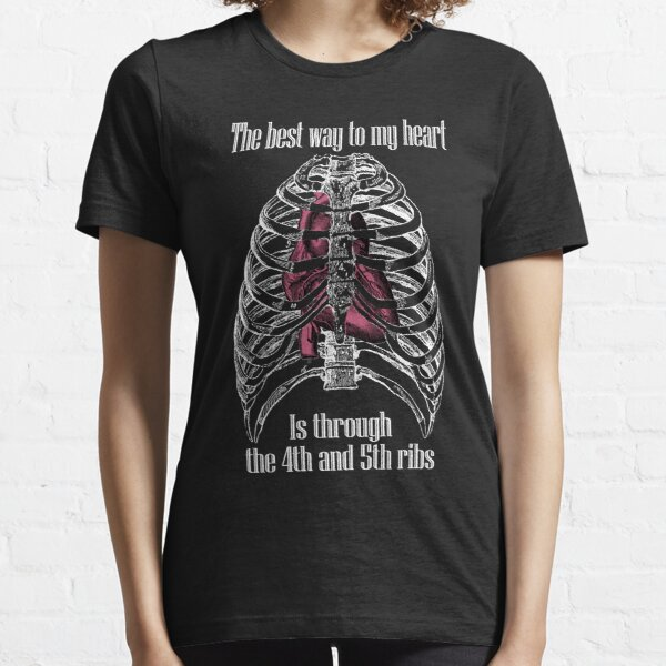 The Best Way to My Heart - Reverse Image Essential T-Shirt