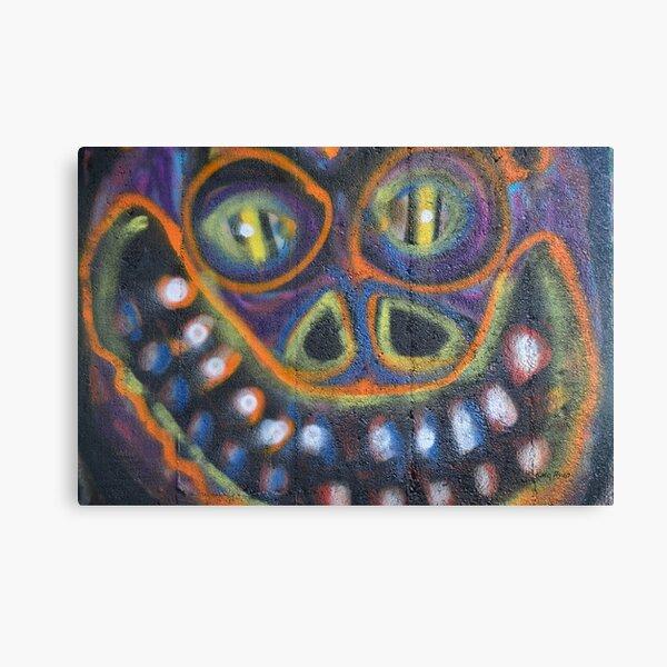 Graffiti Wall Art Photography - Smile Canvas Print