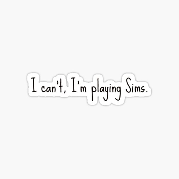 The Sims 4 Sticker
