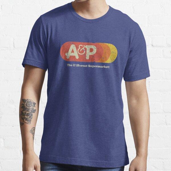 A&P Supermarket 1976 Sunrise Vintage Essential T-Shirt