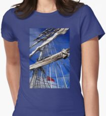 Mercedes Rigging Womens Fitted T-Shirt