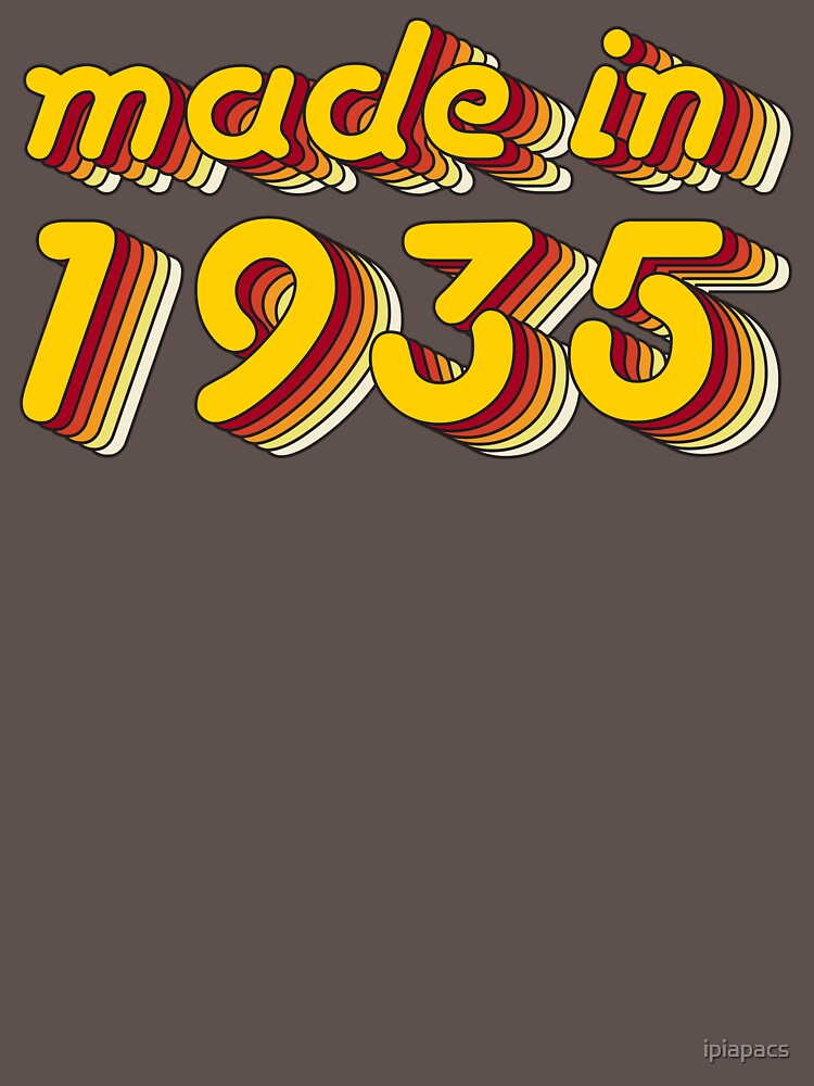 Made in 1935 (Yellow&Red) by ipiapacs