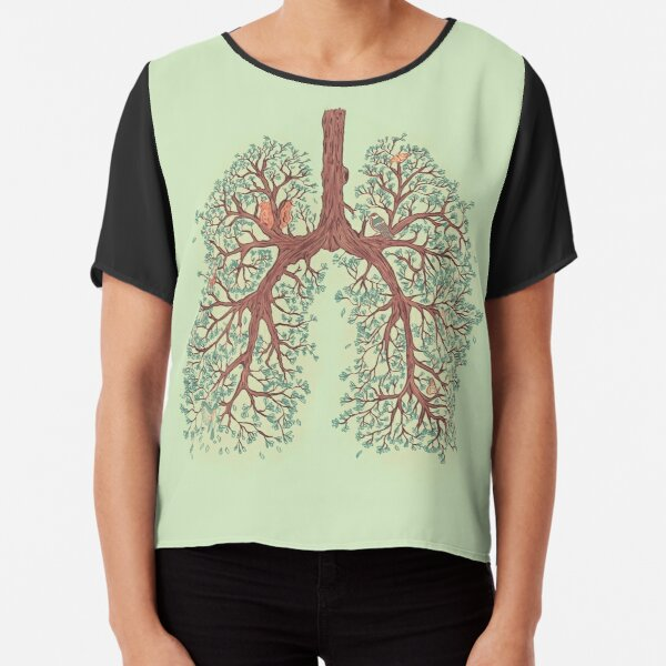Lungs Chiffon Top