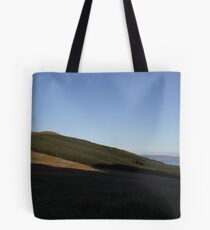 Sun Setting over the Donegal Hills Tote Bag