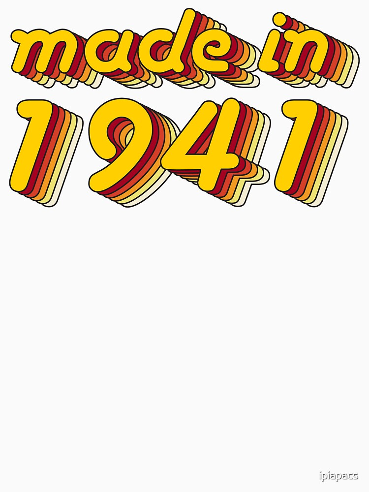 Made in 1941 (Yellow&Red) by ipiapacs