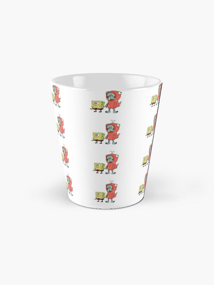 Alternate view of Squidward and Spongebob Mug