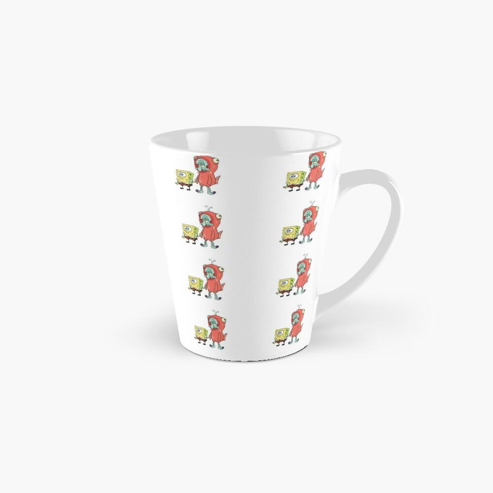 Squidward and Spongebob Mug