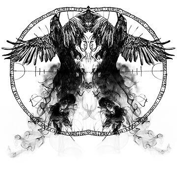 Ravens by dariasart