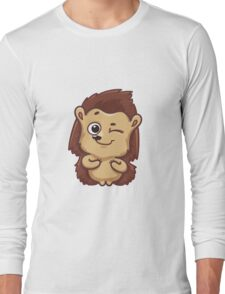 Hedgehog Winks Long Sleeve T-Shirt