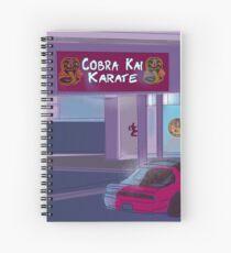 Cobra Kai Dojo Spiralblock