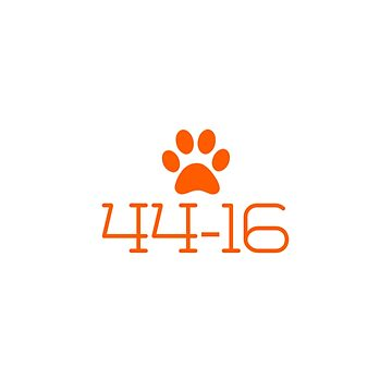 44-16, you know the score Clemson fans! by KenRitz
