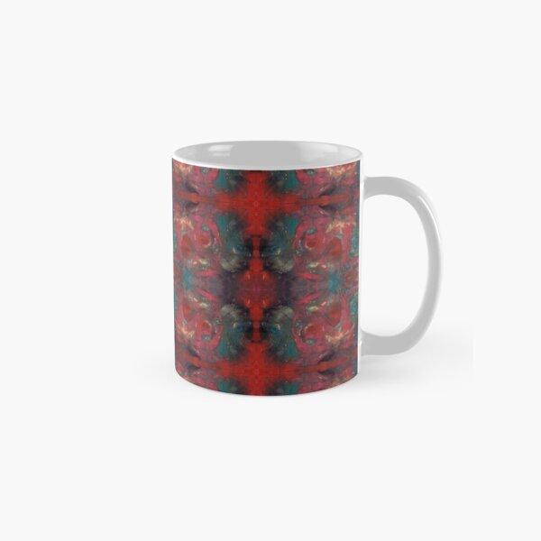 """pat_tho"" - SDTho_Art: oil pastel, abstract, digital pattern Classic Mug"