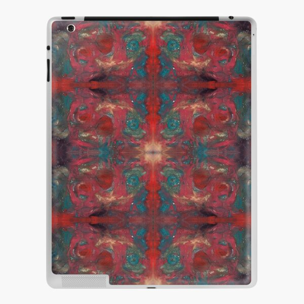 """pat_tho"" - SDTho_Art: oil pastel, abstract, digital pattern iPad Skin"