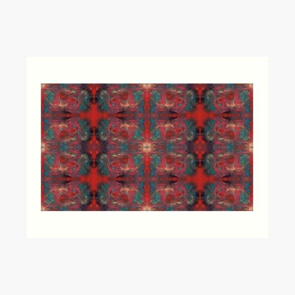 """pat_tho"" - SDTho_Art: oil pastel, abstract, digital pattern Art Print"