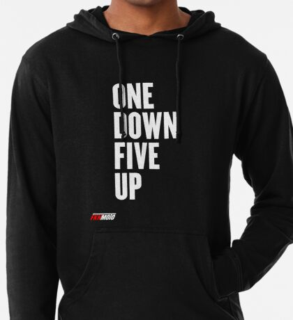 One down five up Lightweight Hoodie