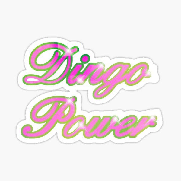 Dingo Power Sticker