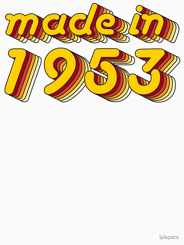 Made in 1953 (Yellow&Red) by ipiapacs