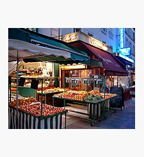 Night Market, Paris Photographic Print