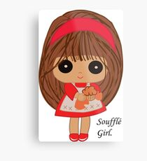 Soufflé Girl Metal Print