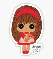 Soufflé Girl Sticker