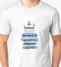 When You Were My Boat Unisex T-Shirt