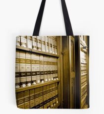 Law Book Library Tote Bag