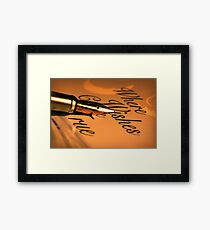 Where Wishes Come True Framed Print