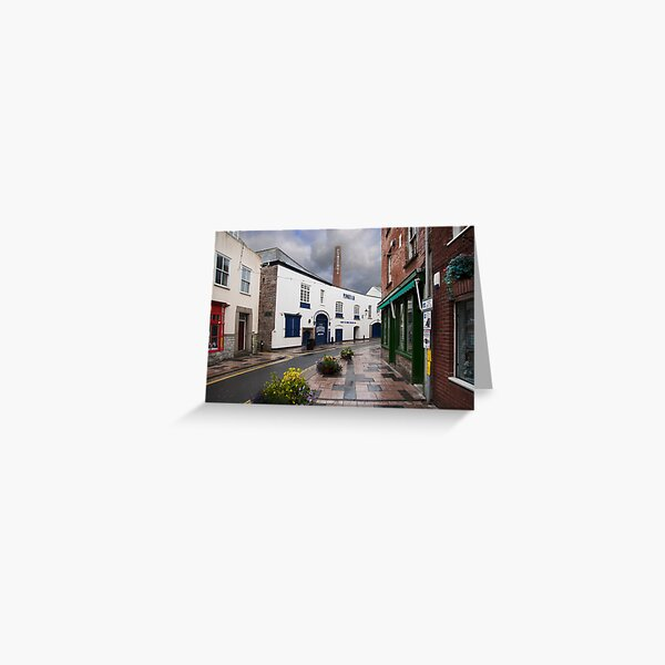 Plymouth Gin Distilery: The Barbican Plymouth. UK. Greeting Card