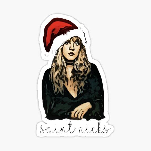 Saint Nicks- digital painting Sticker