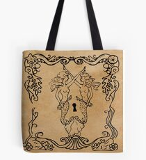 Mermaid Tarot: Hierophant Tote Bag
