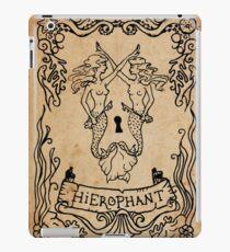 Mermaid Tarot: Hierophant iPad Case/Skin