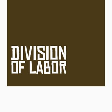 Division of Labor Logo (Brown Version) by divisionoflabor